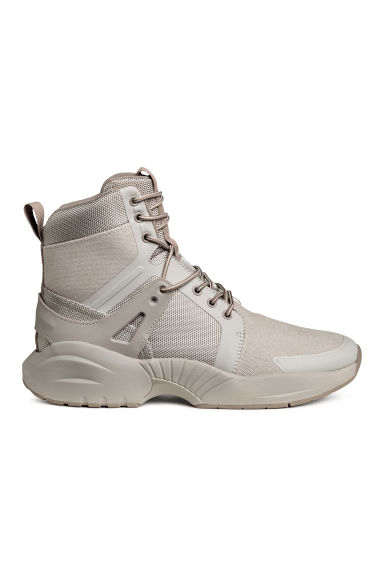 Hi-top trainers - Light mole -  | H&M
