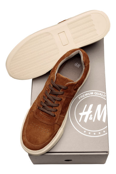 Trainers - Brown/Suede -  | H&M