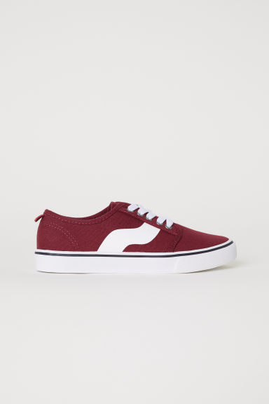 Trainers - Dark red -  | H&M