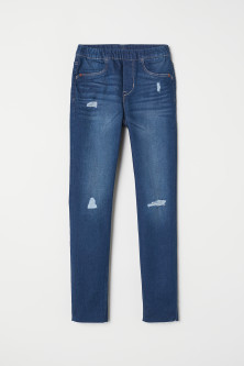 Legging van superstretchdenim