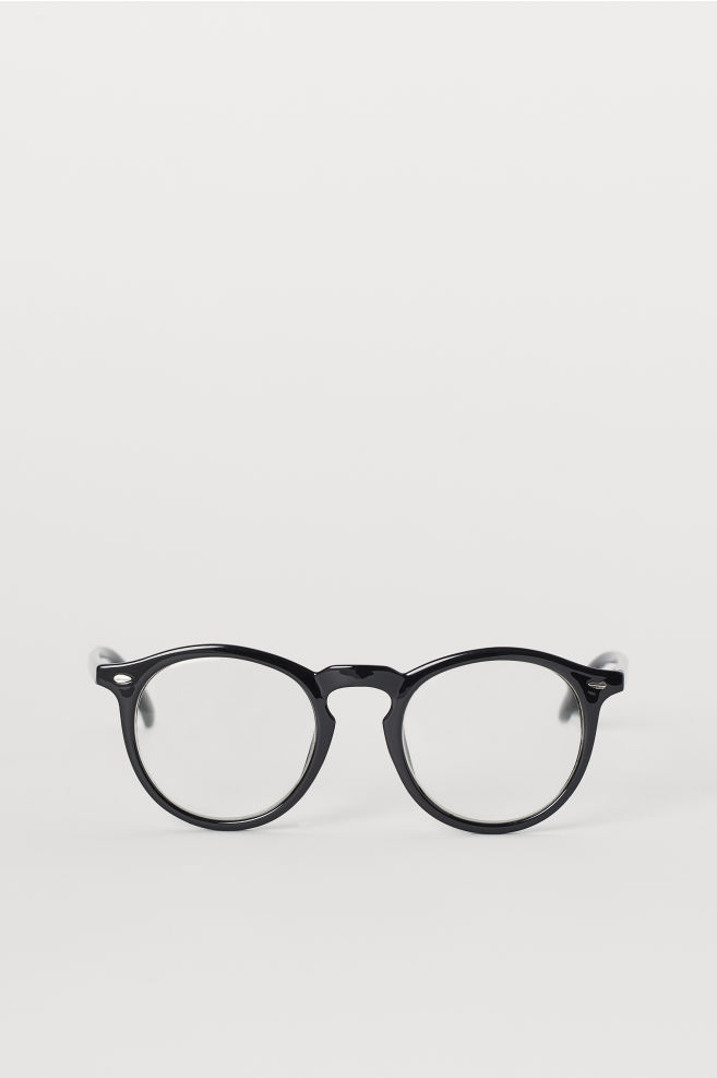 5885650e0 Round Eyeglasses - Black - Men | H&M ...
