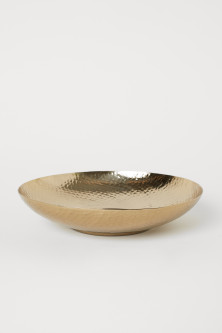 Hammered Metal BowlModel