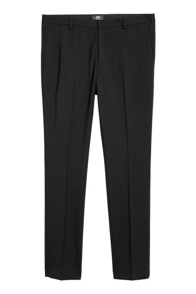 Suit trousers Super skinny fit - Black -  | H&M