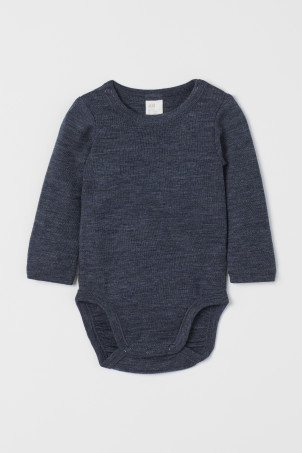 Wool bodysuit