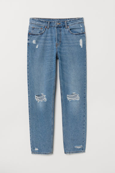 Boyfriend Low Jeans - Light denim blue -  | H&M