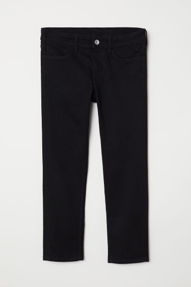 Skinny Fit Generous Size Jeans - 黑色 - Kids | H&M CN