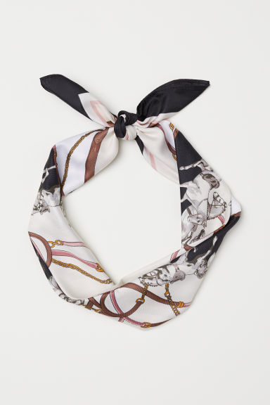 Scarf/Hairband - Natural white/Horse - Ladies | H&M CN