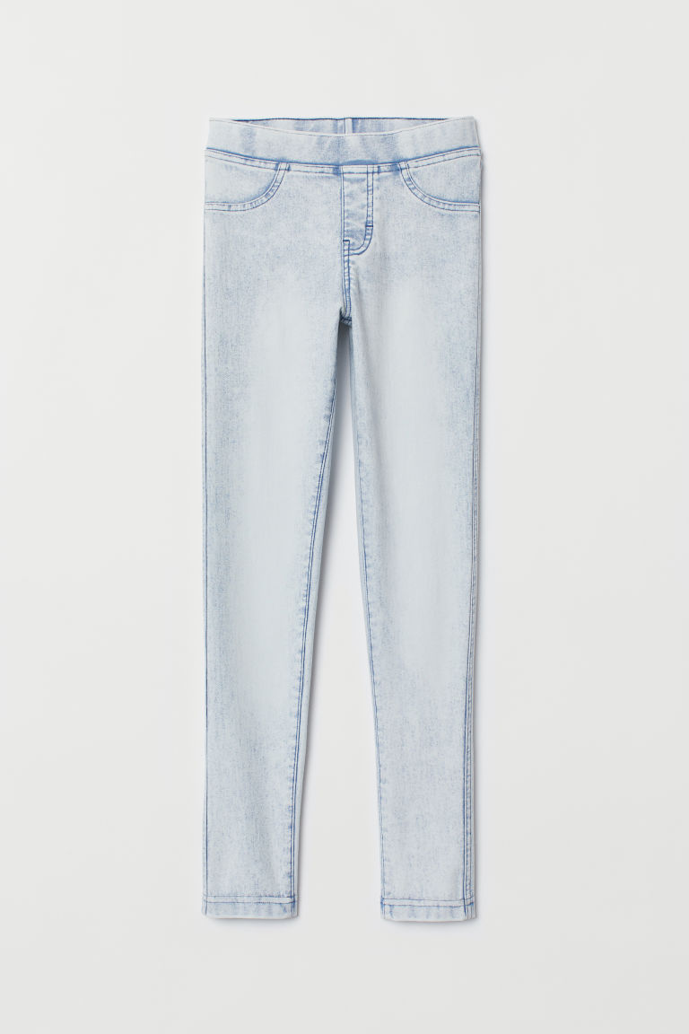 Treggings - Light denim blue - Kids | H&M CN