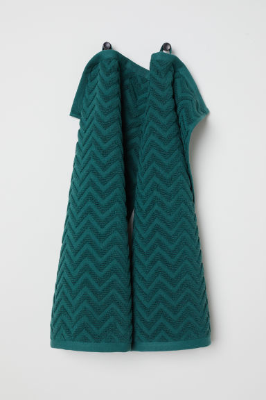 2-pack guest towels - Dark green - Home All | H&M CN