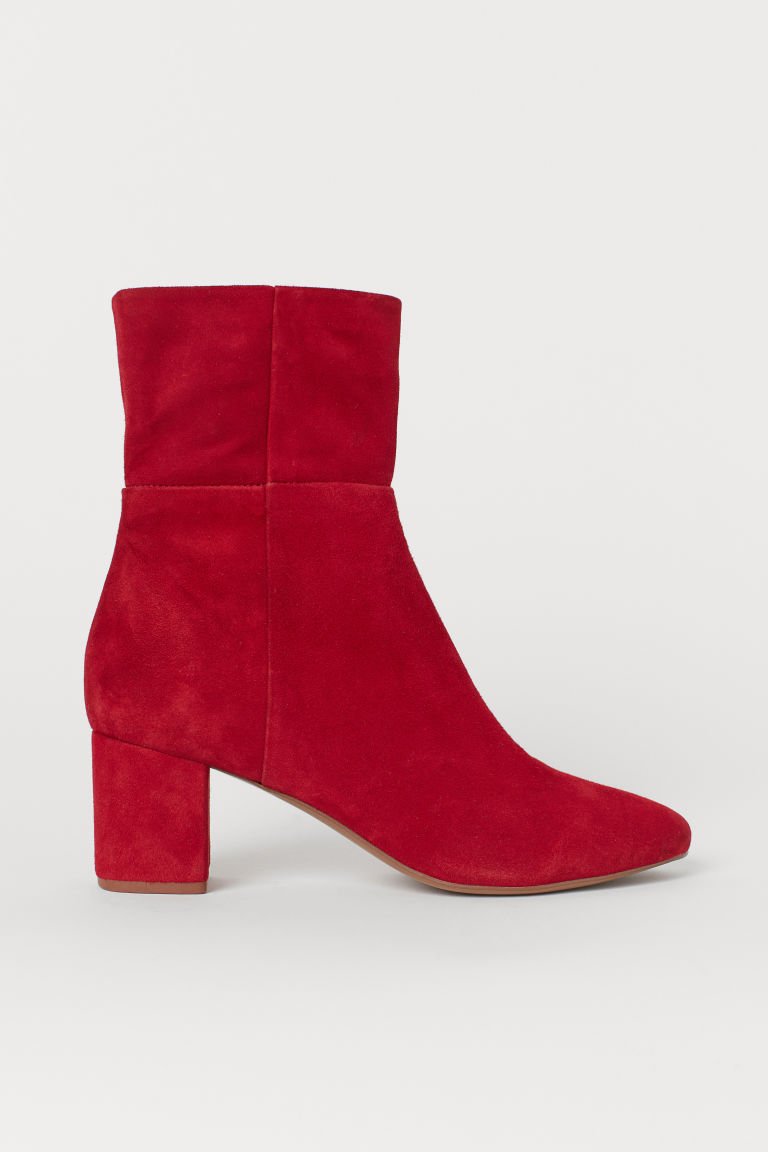 Ankle boots - Red - Ladies | H&M IN
