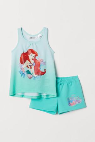72998e9c430 Tøj med tegnefilmprint til piger – str. 92-140 | H&M DK