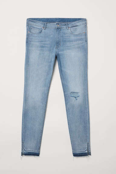 H&M+ Skinny Regular Jeans - Light denim blue - Ladies | H&M CN