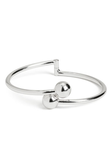 Metal bangle - Silver-coloured - Ladies | H&M IE