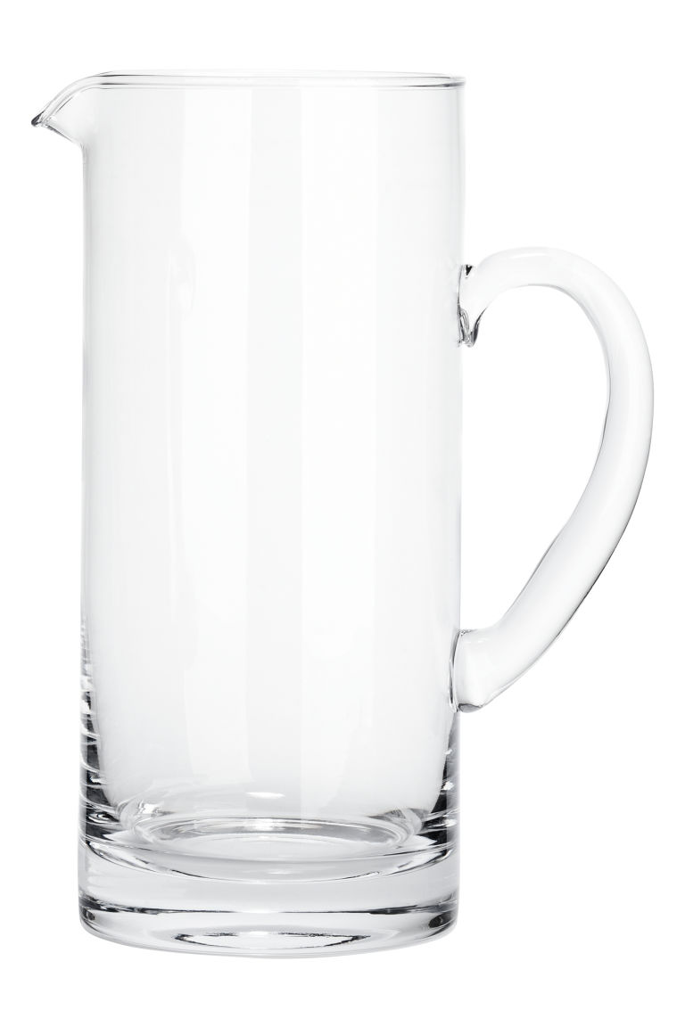 Glass jug - Clear glass - Home All | H&M CN