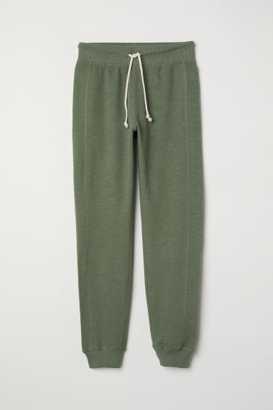 Joggers - Khaki green - Ladies | H&M