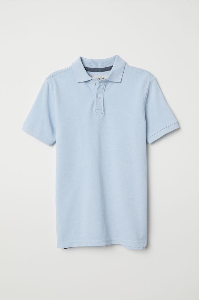 77b31b683 Polo Shirt - Light blue - Kids