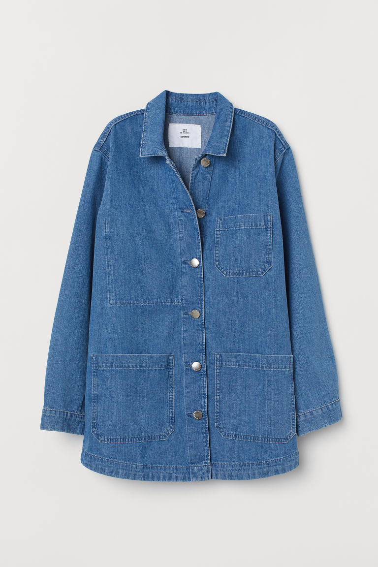 Denim utility jacket - Denim blue -  | H&M IE