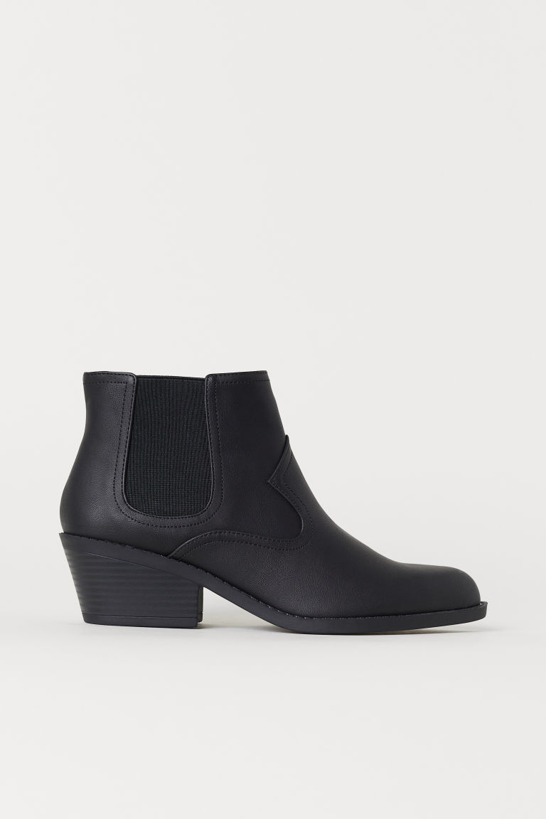 Pointed Chelsea boots - Black - Ladies | H&M CN