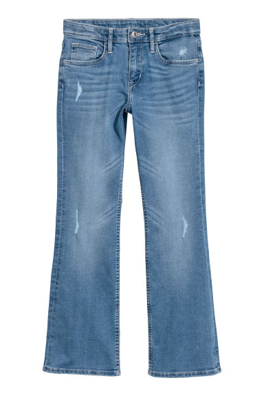 Boot cut Jeans - Denimblauw -  | H&M BE