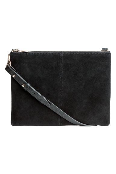 Small Bag with Suede Details - Black - Ladies | H&M CA