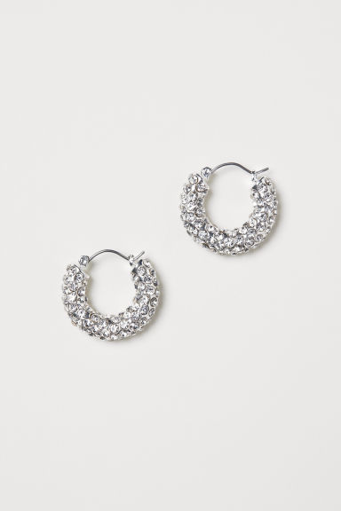 Silver-plated Earrings - Silver-colored - Ladies | H&M US