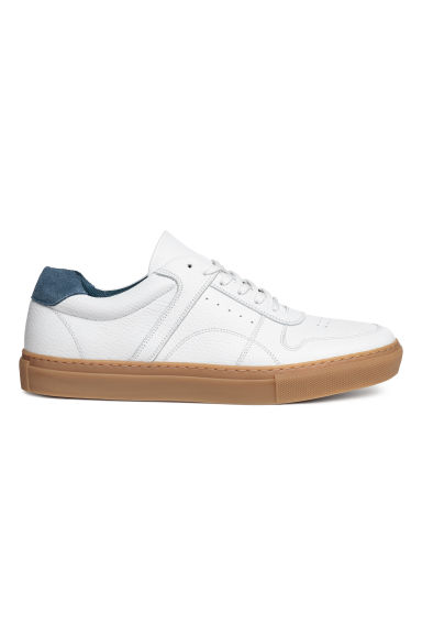 Sneakers - Wit/leer - HEREN | H&M NL