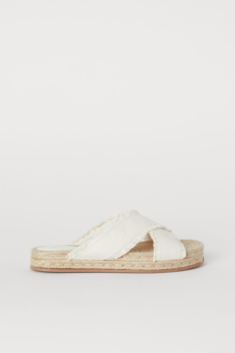 Mules - White - Ladies | H&M CN