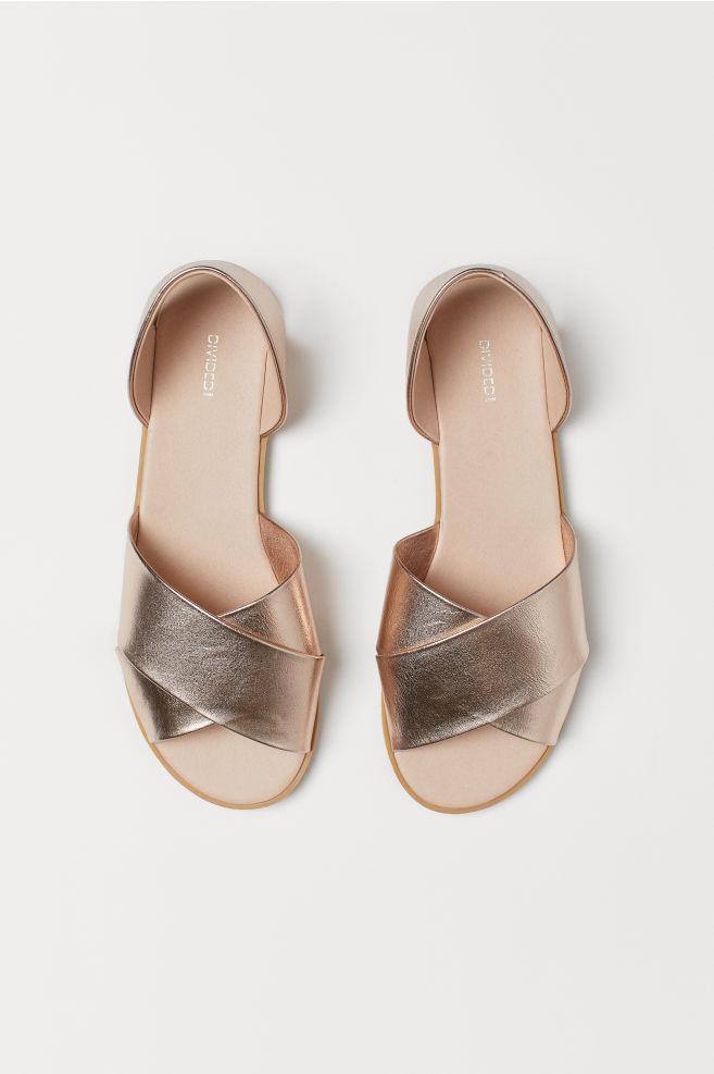 ab964992f460 Sandals - Rose gold-colored - Ladies