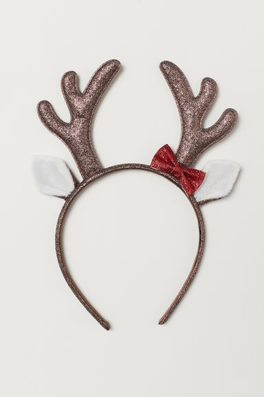 Alice band with antlers - Brown - Kids | H&M
