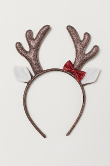 Alice band with antlers