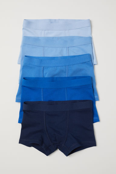 5-pack boxer shorts - Blue -  | H&M