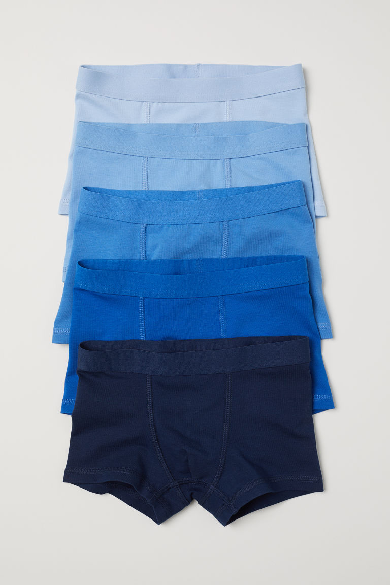 5-pack boxer shorts - Blue - Kids | H&M CN