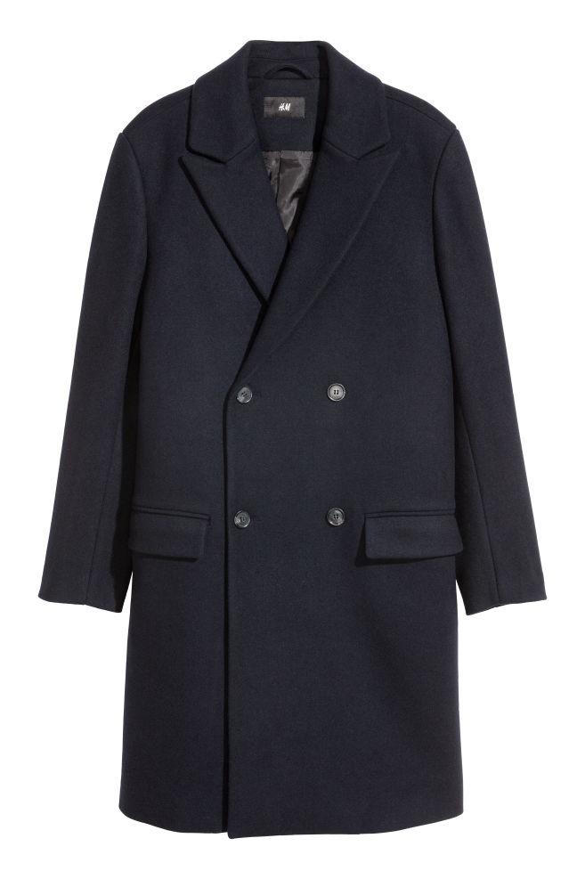Kaksirivinen takki - Tummansininen - MIEHET  68b4f54feb
