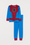 Bright blue/Spider-Man
