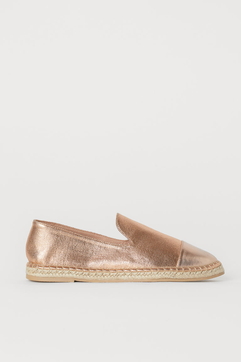 Espadrilles - Rose gold-coloured -  | H&M GB