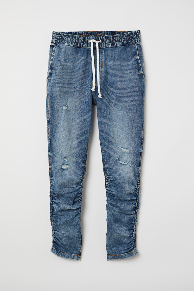 Slim Low Joggers - Denim blue -  | H&M US