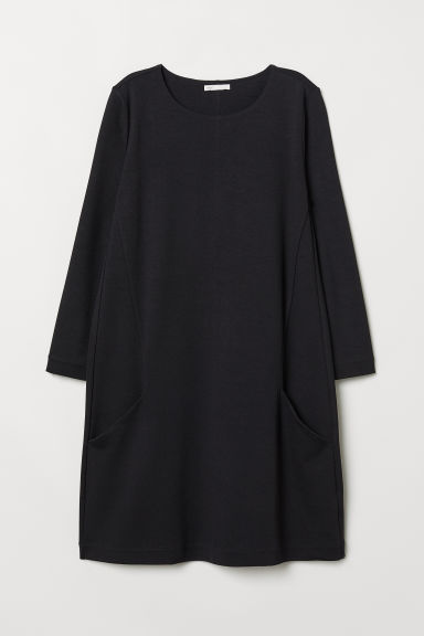 Jersey dress - Black -  | H&M CN