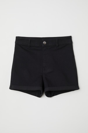 Twillshorts High Waist