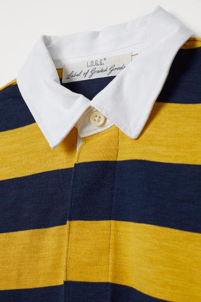 Slub Jersey Rugby Shirt