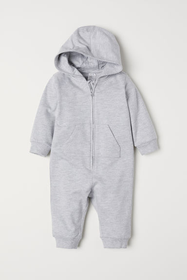 Sweatshirt all-in-one suit - Grey -  | H&M