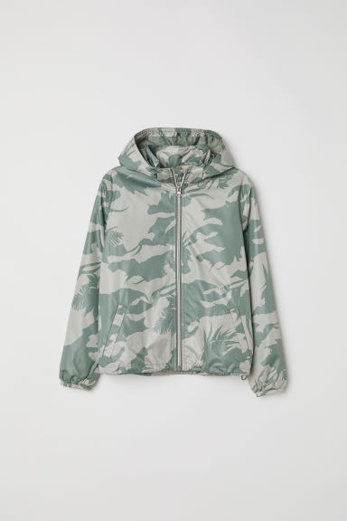 Outdoorjas - Kakigroen/dessin -  | H&M BE