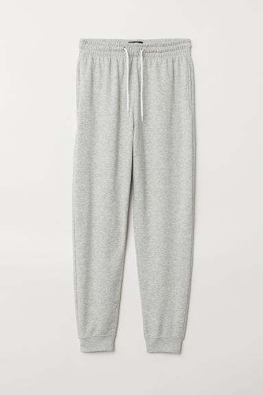 Sweatpants Regular fit - Grey marl - Men | H&M IE
