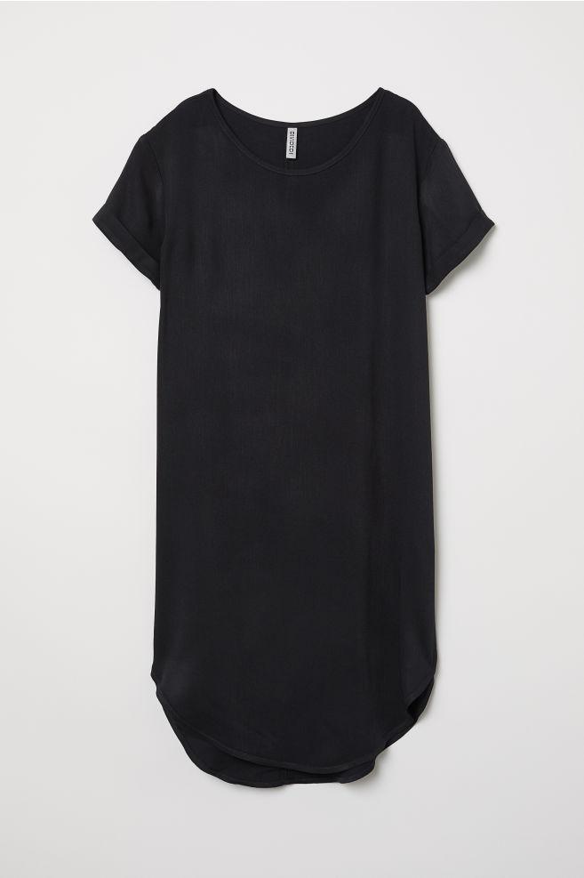 dc2f57f507 Abito-T-shirt in viscosa
