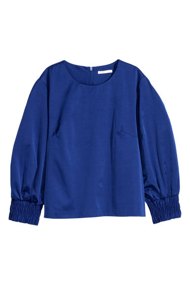 Top - Cornflower blue -  | H&M GB