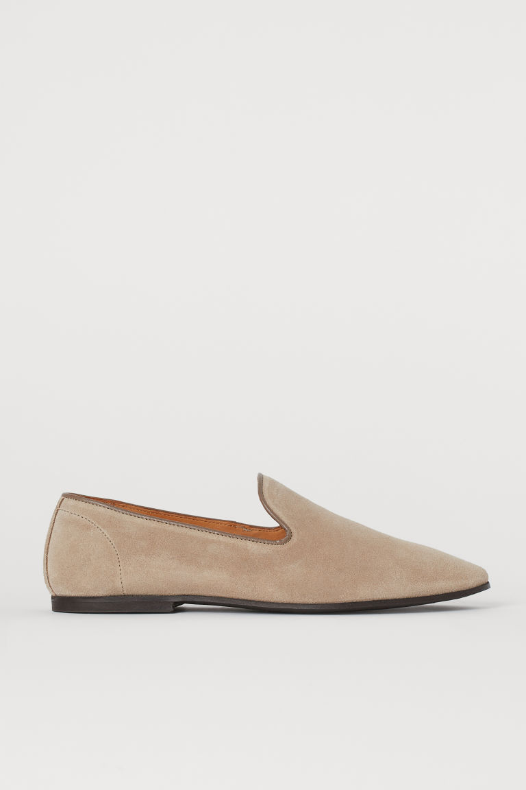 Loafers - Lichttaupe - HEREN | H&M BE