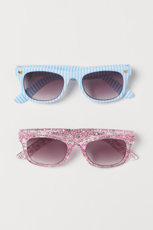2-pack Patterned Sunglasses