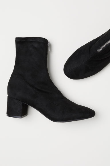 Stivali a calza - Nero -  | H&M IT