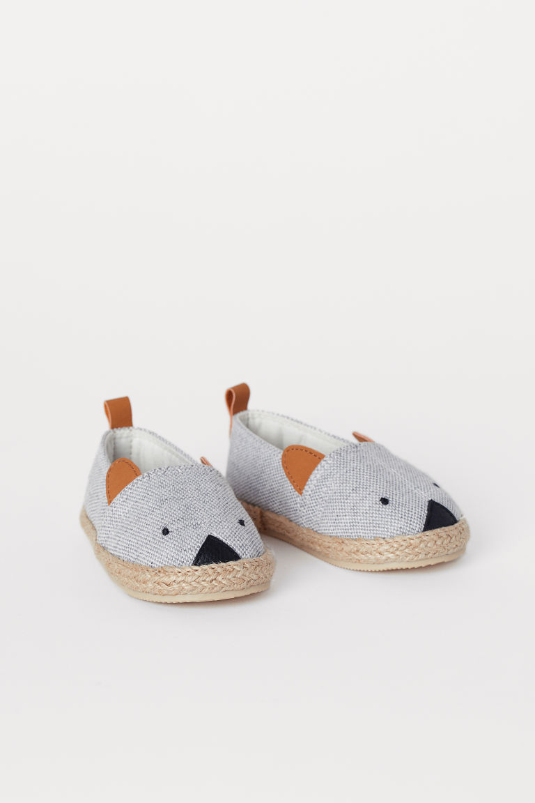 Espadrilles - Light grey - Kids | H&M CN