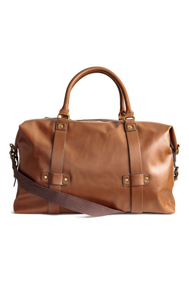 Weekend bag - Cognac brown - Men | H&M CN