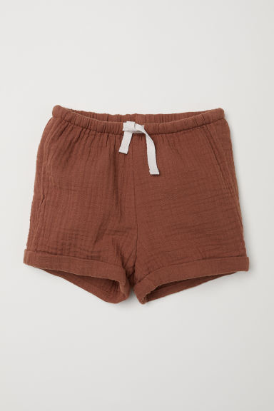 Shorts in cotone - Marrone - BAMBINO | H&M IT